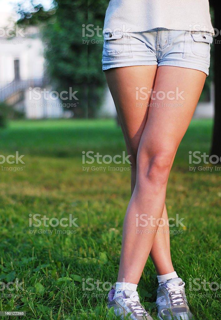Perfekte Beine Lizenzfreies stock-foto
