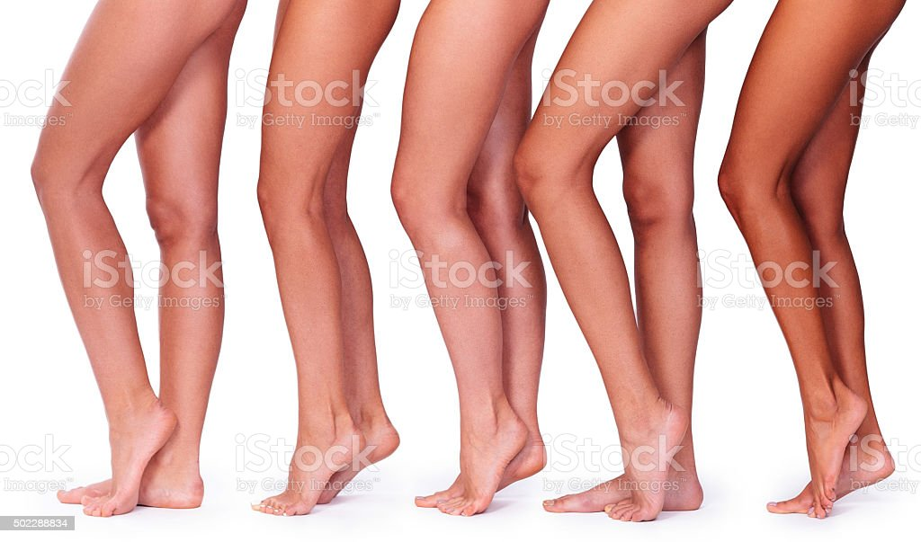 Perfect legs. stock photo