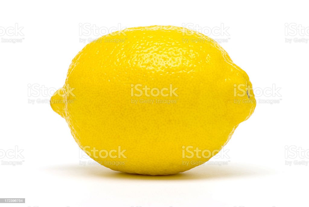 Perfect Lemon royalty-free stock photo