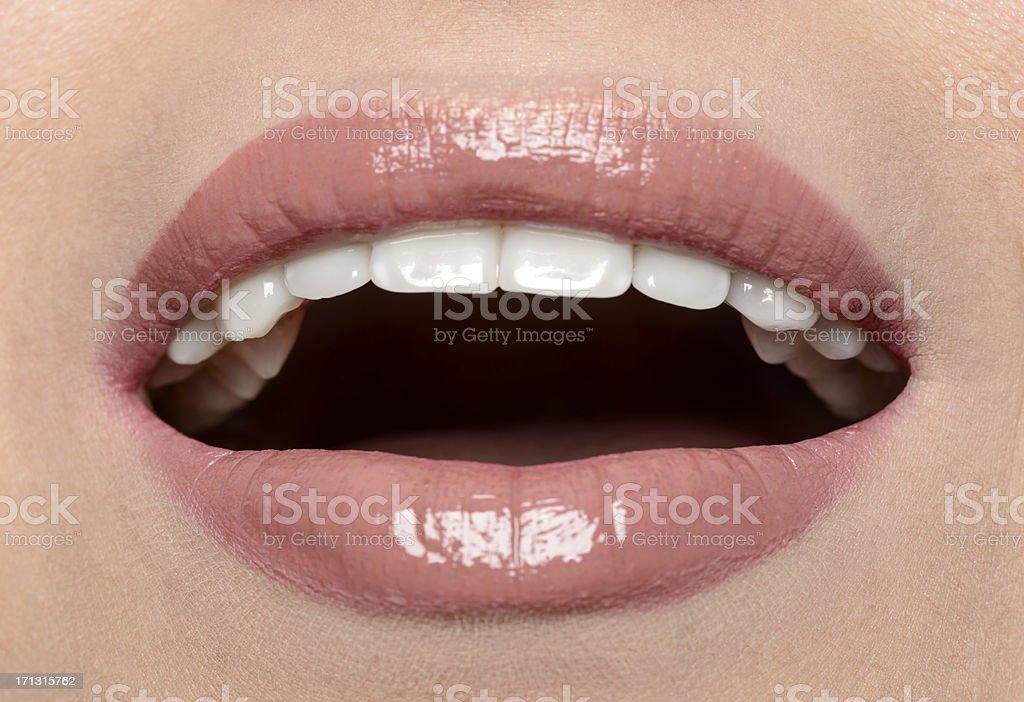 perfect lips royalty-free stock photo