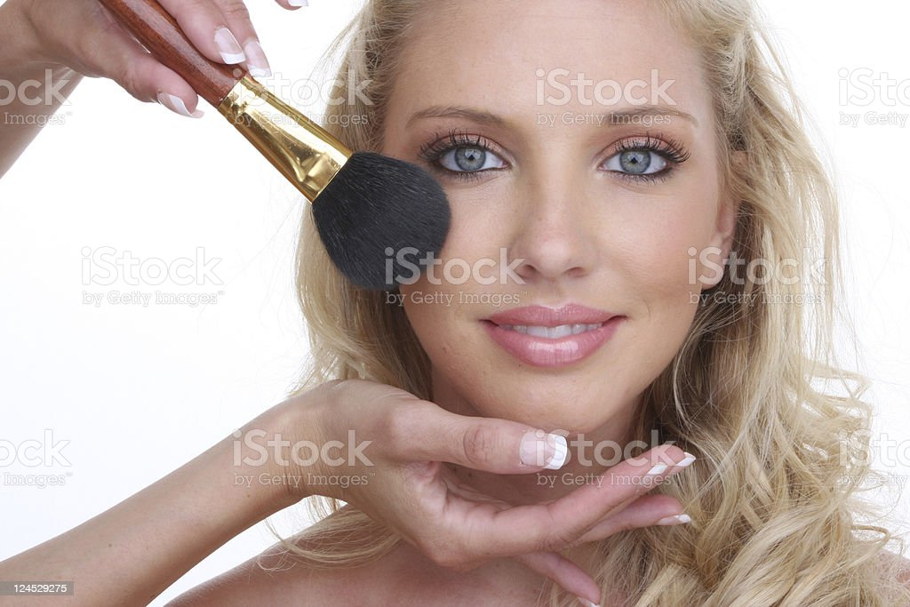 perfect make up royalty-free stock photo
