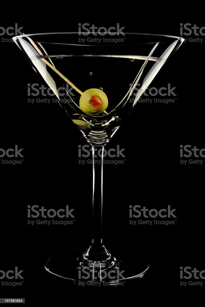 Perfect Martini royalty-free stock photo
