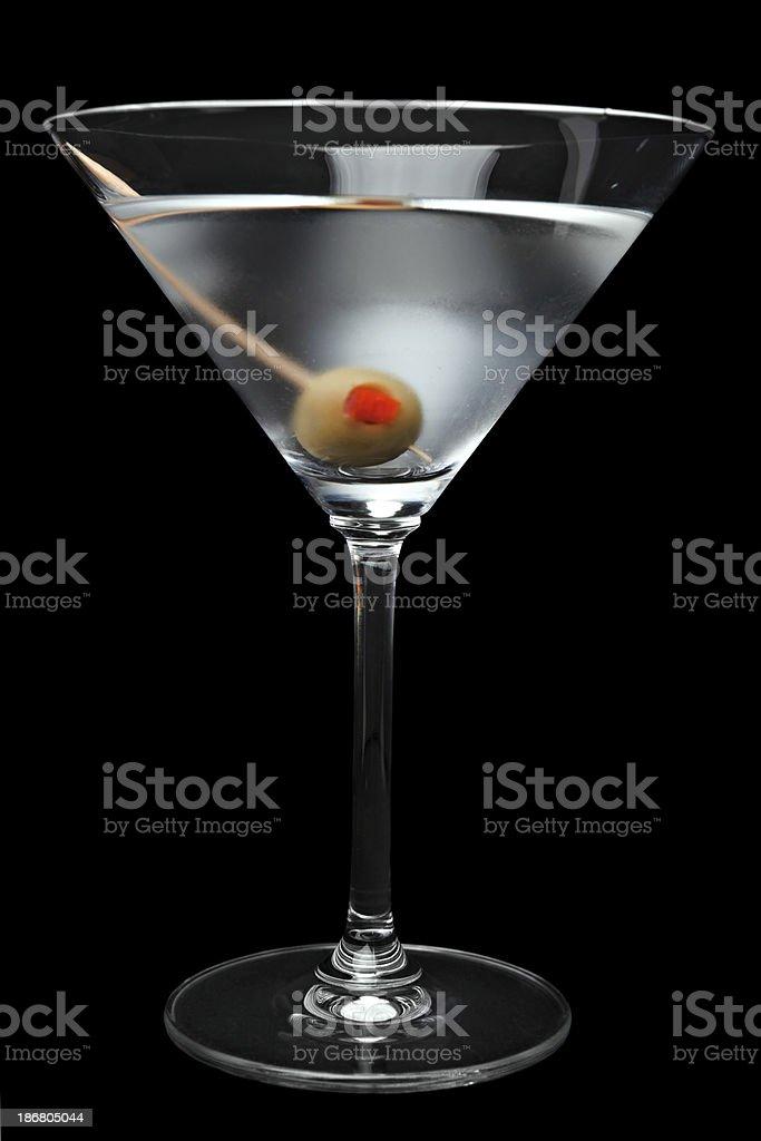 Perfect Martini stock photo