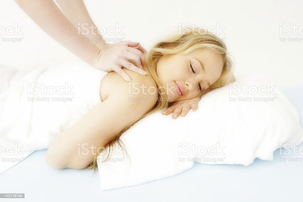 Perfect Massage royalty-free stock photo