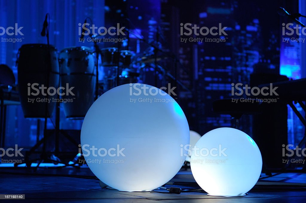 perfect music stage stock photo