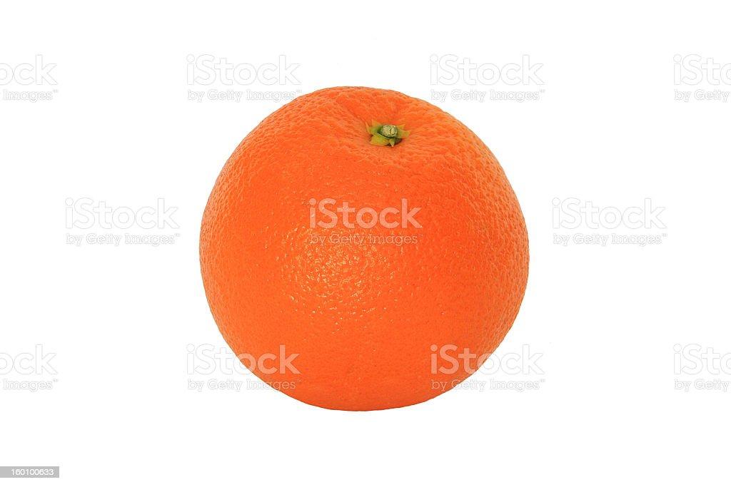 Perfect Orange royalty-free stock photo