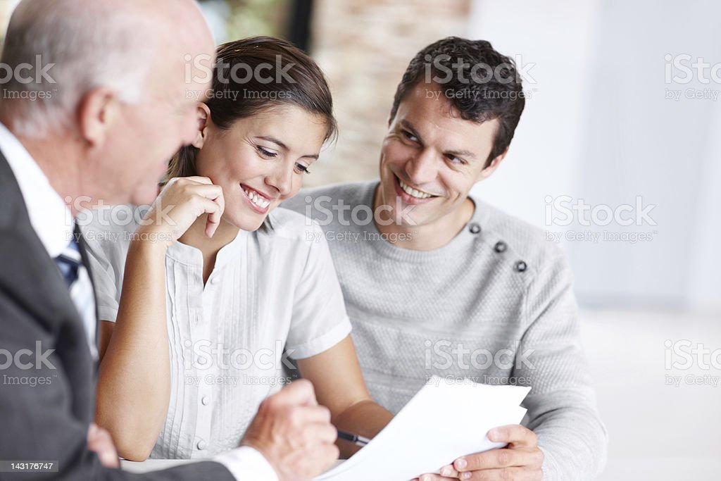 Perfect papers stock photo