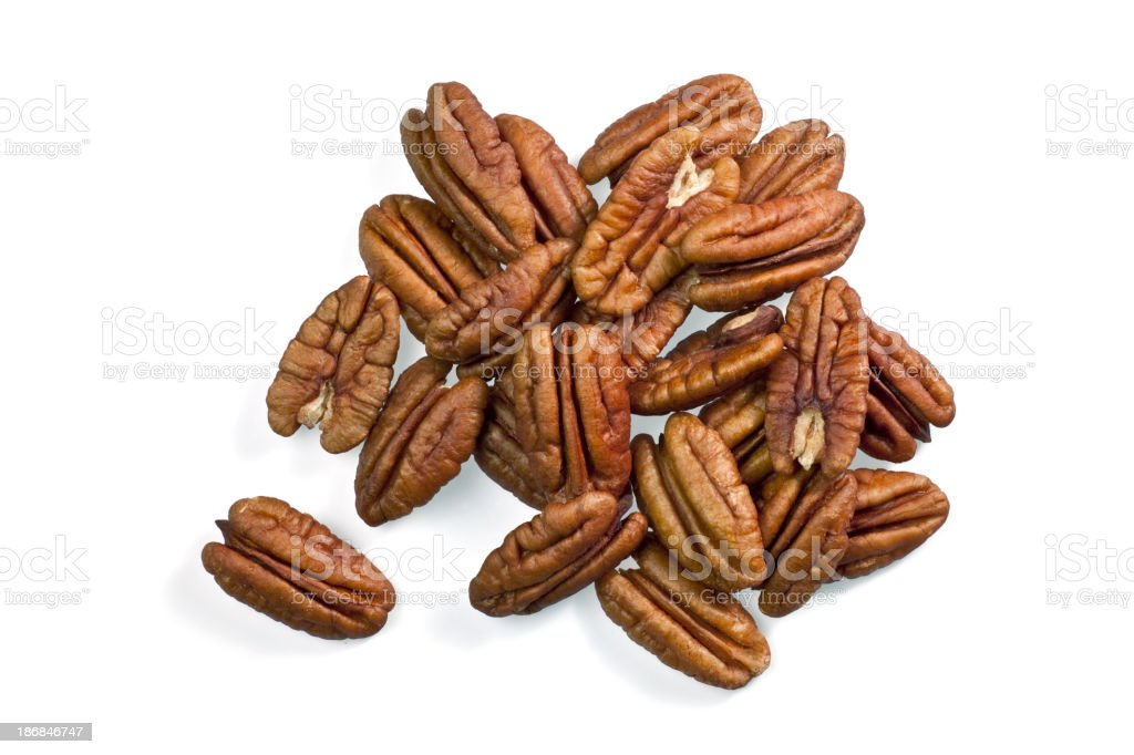 Perfect Pecans stock photo