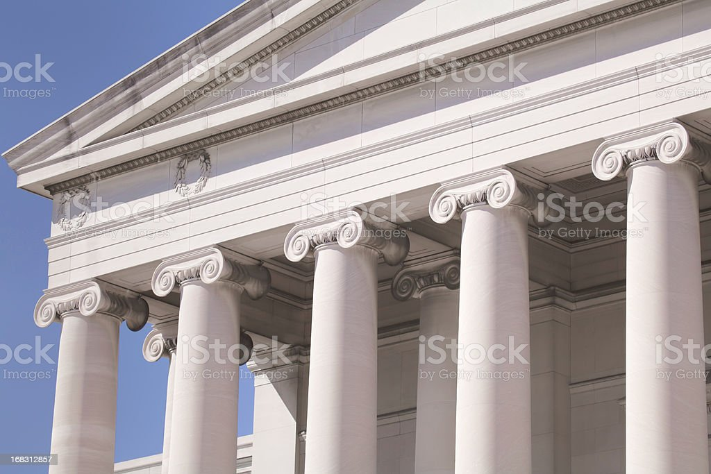 Perfect pillars royalty-free stock photo