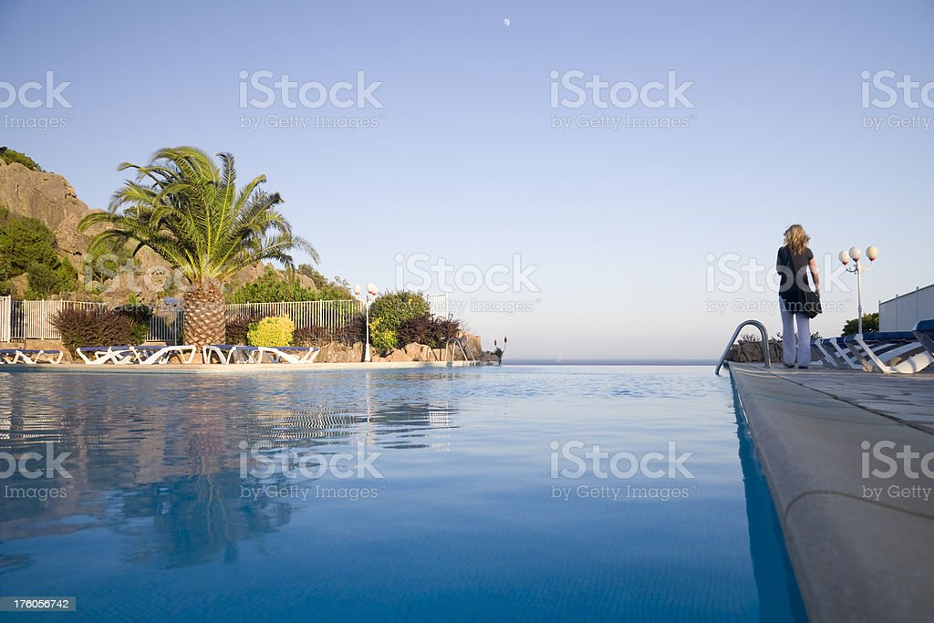 Perfect Pool royalty-free stock photo