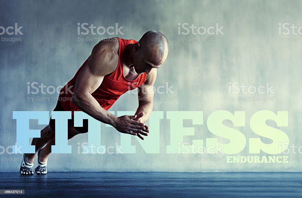 Perfect power stock photo