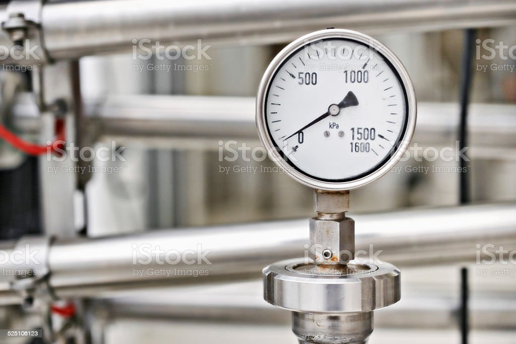 Perfect pressure stock photo