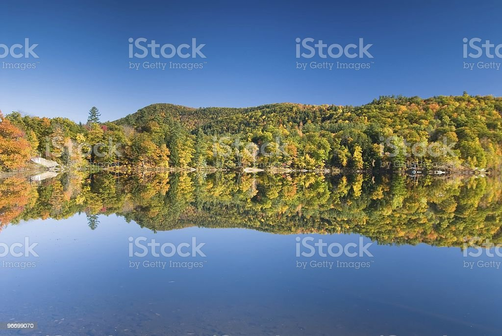 Perfect reflection royalty-free stock photo