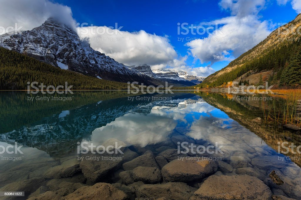 Perfect Reflections stock photo