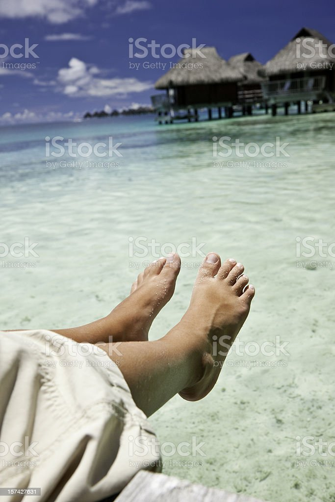 Perfect Relaxation royalty-free stock photo