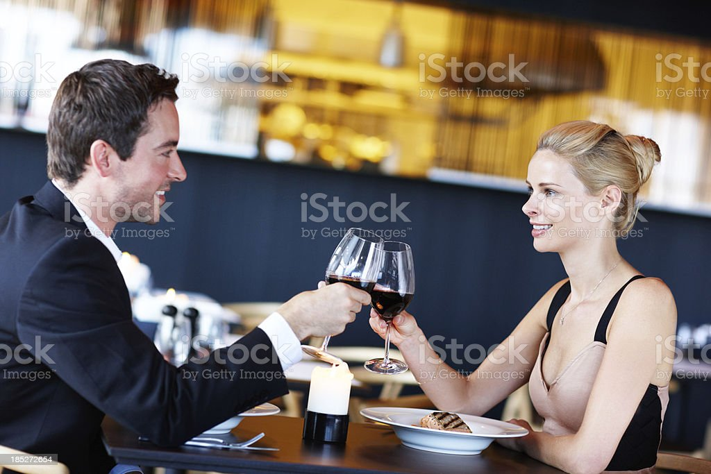Perfect setting for a proposal! royalty-free stock photo