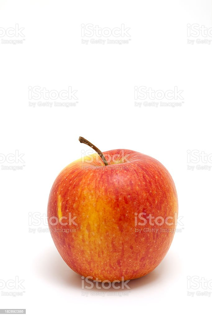 perfect single apple royalty-free stock photo