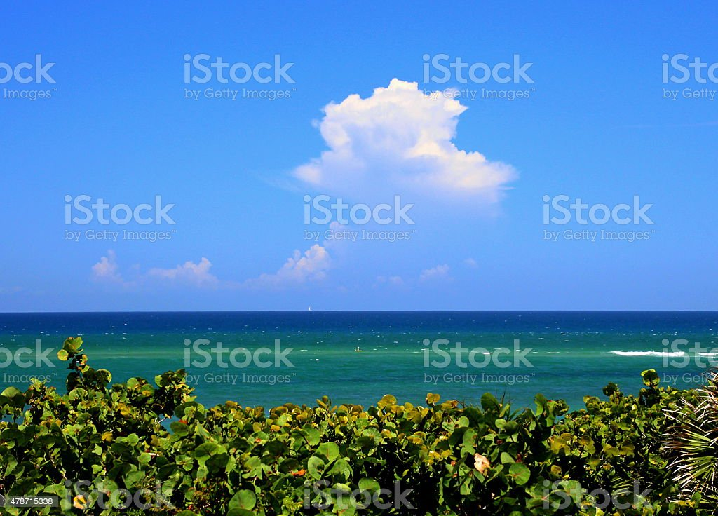 perfect sky stock photo
