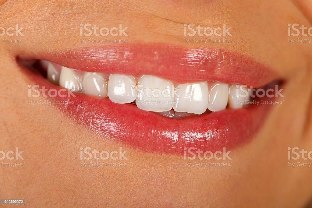 Perfect smile stock photo