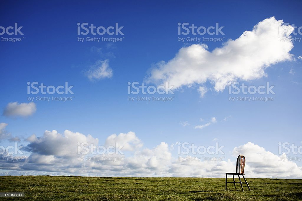 Perfect spot for a rest royalty-free stock photo