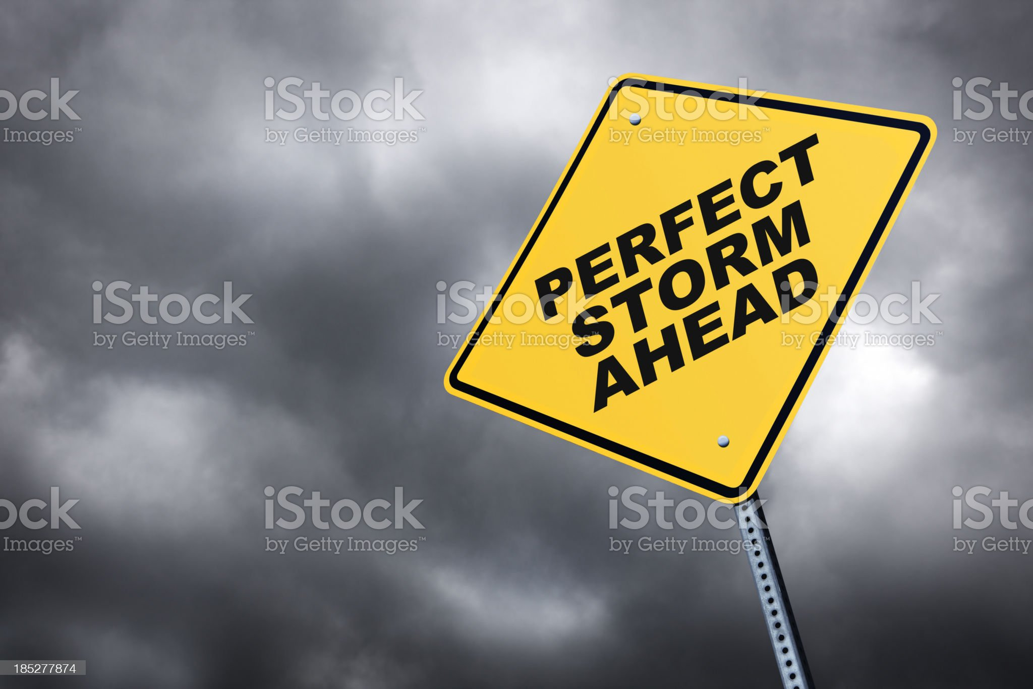 Perfect Storm Ahead royalty-free stock photo