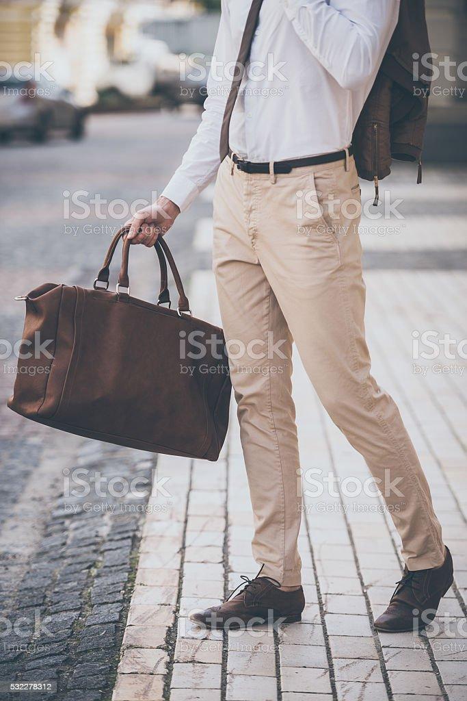 Perfect style. stock photo
