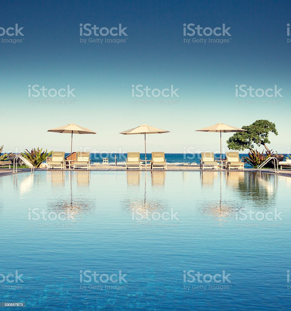 Perfect Swimming Pool stock photo