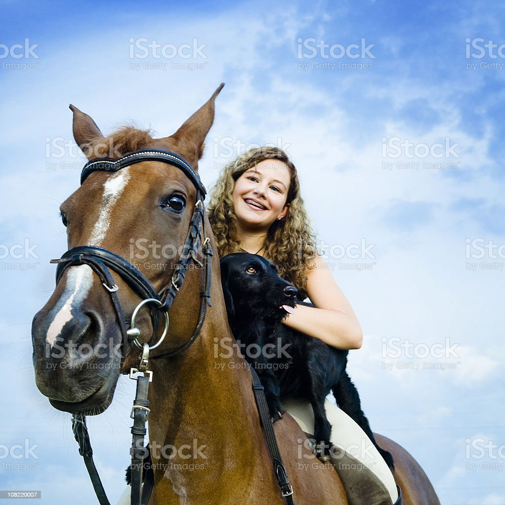 Perfect Team royalty-free stock photo