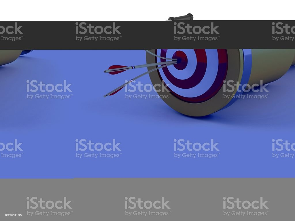 Perfect telescope royalty-free stock photo