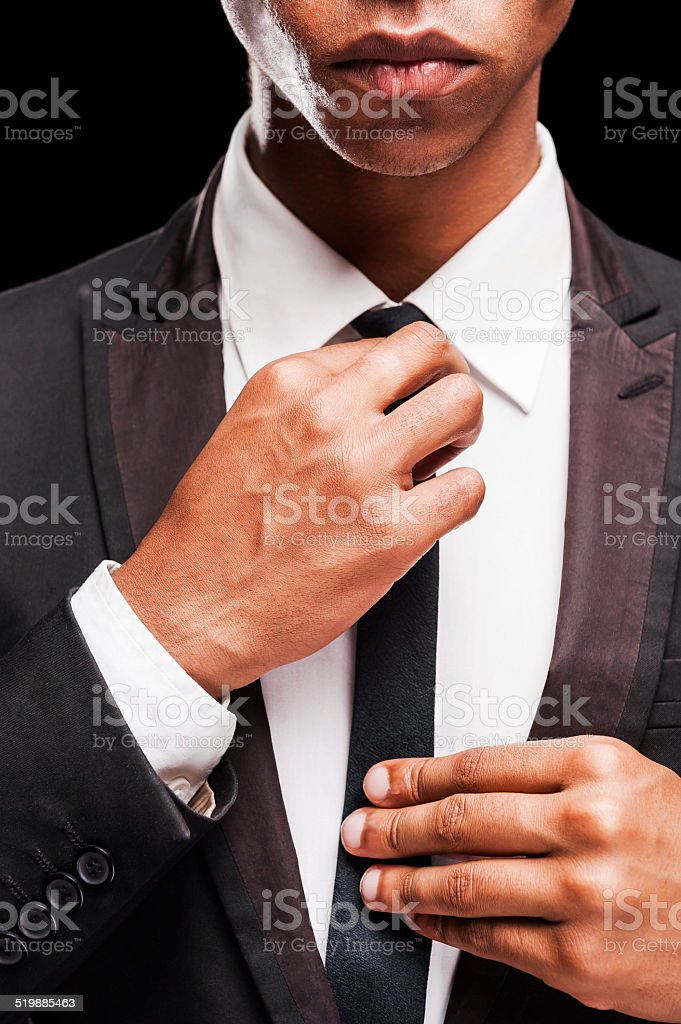 Perfect to the last detail. stock photo