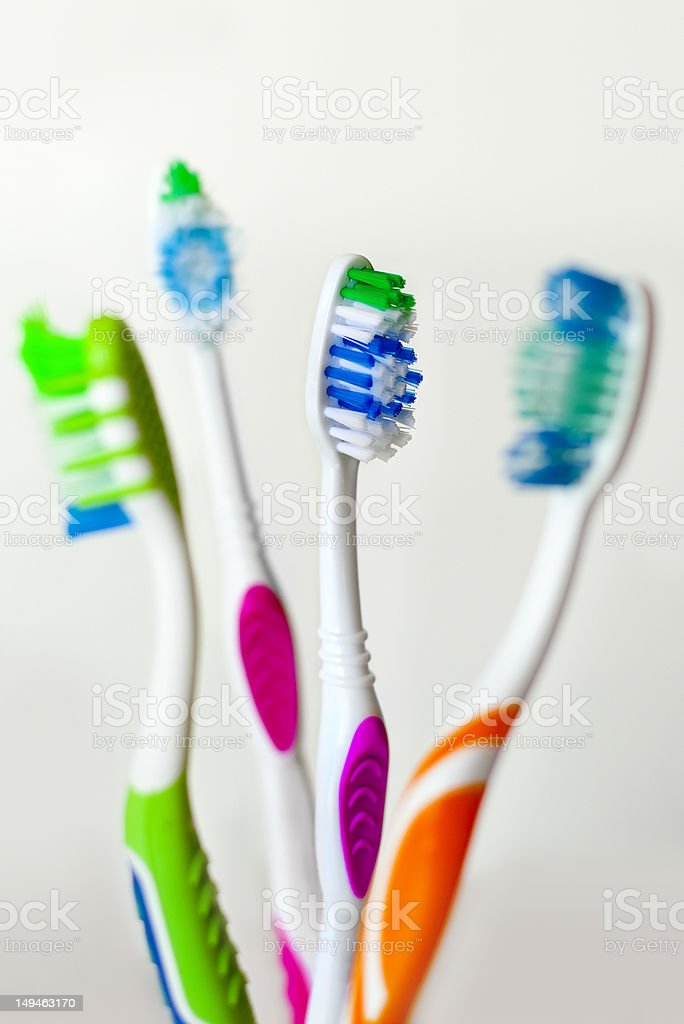 Perfect toothbrush royalty-free stock photo