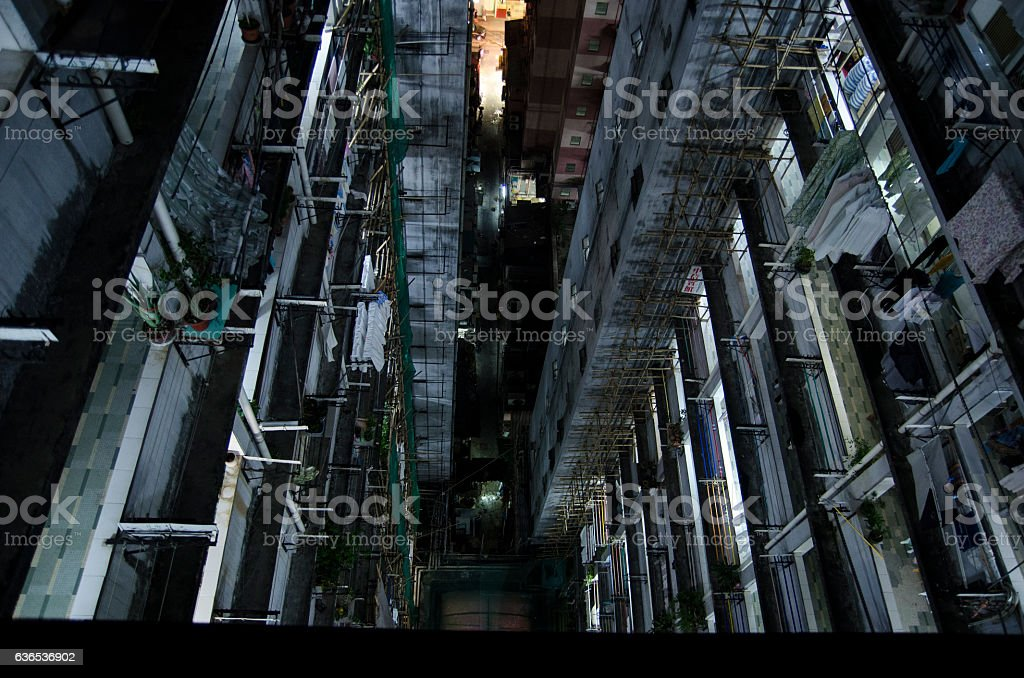 Perfect urban background stock photo