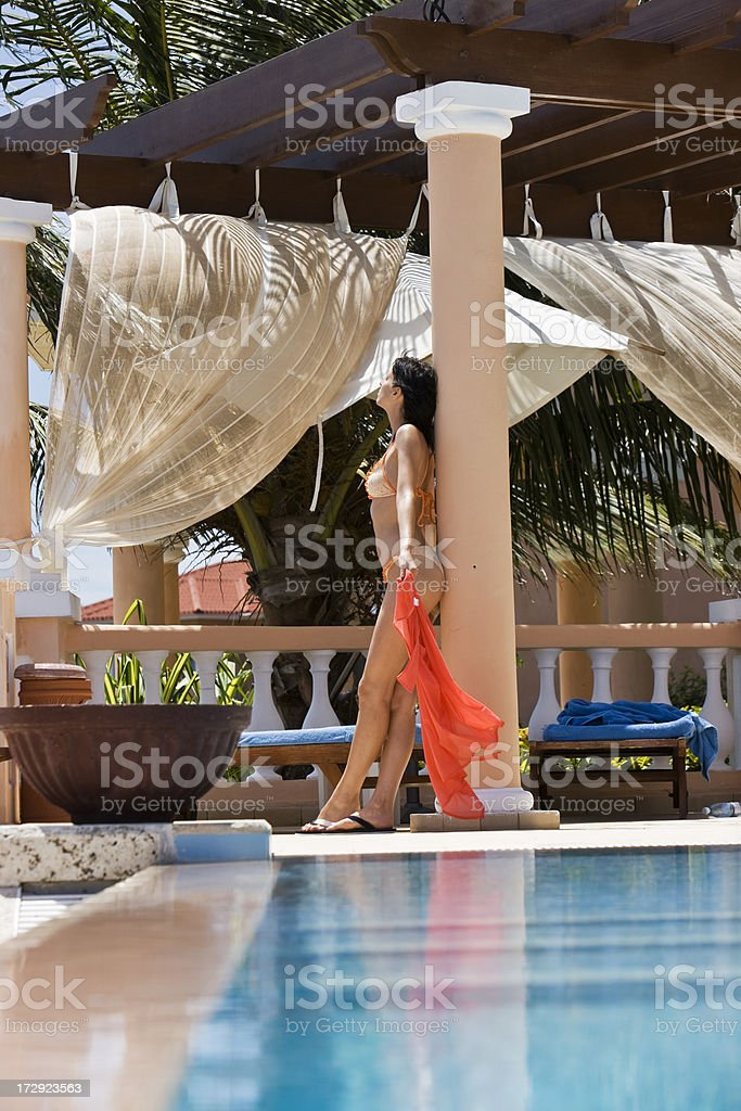 Perfect vacation royalty-free stock photo