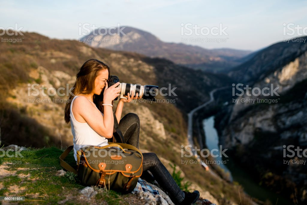 Perfect view for photos stock photo