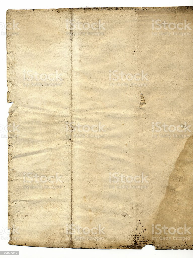 Perfect Vintage old Paper stock photo