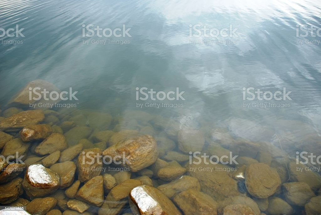 Perfect water stock photo