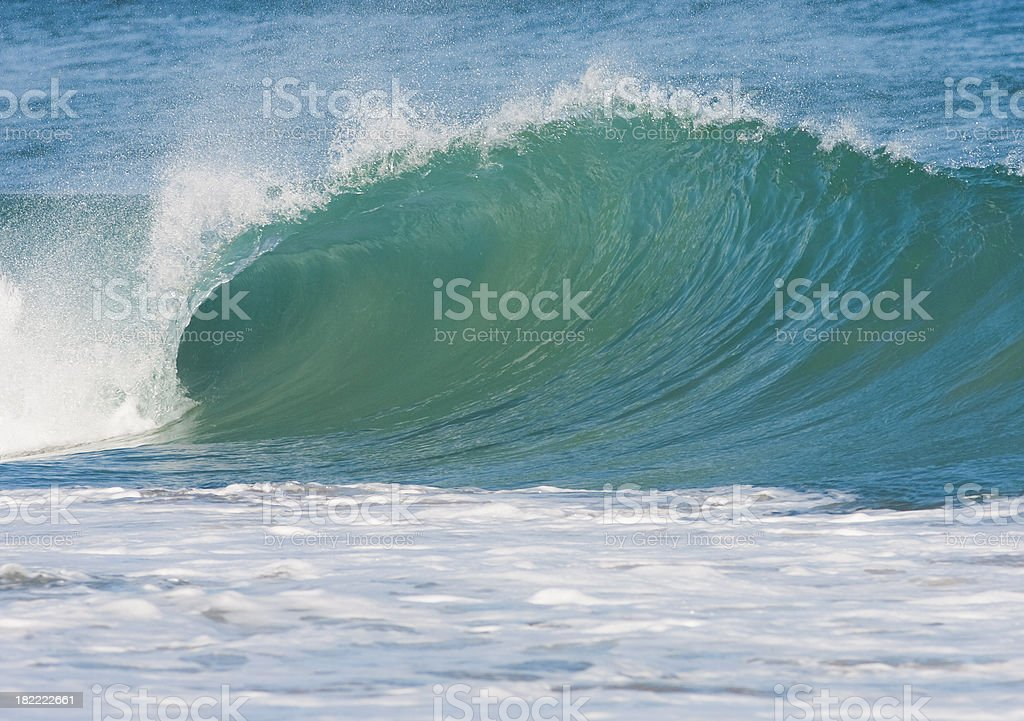 perfect wave stock photo