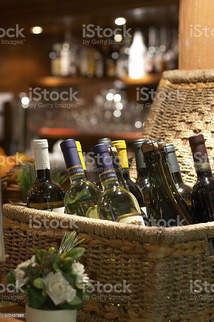 Perfect wine rack royalty-free stock photo