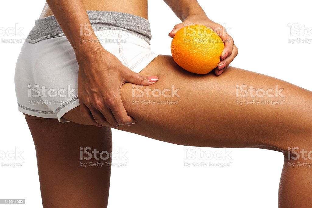 perfect womans bum and legs stock photo