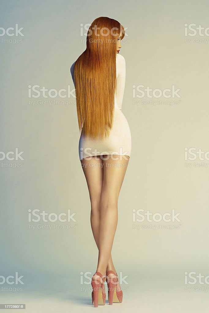 Perfect young woman royalty-free stock photo