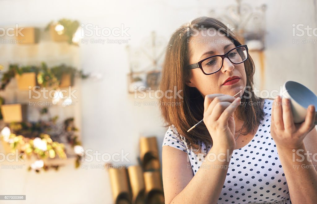 Perfection is in the details stock photo