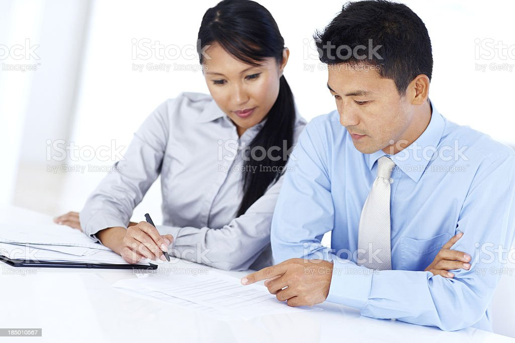 Perfection takes a combined effort royalty-free stock photo