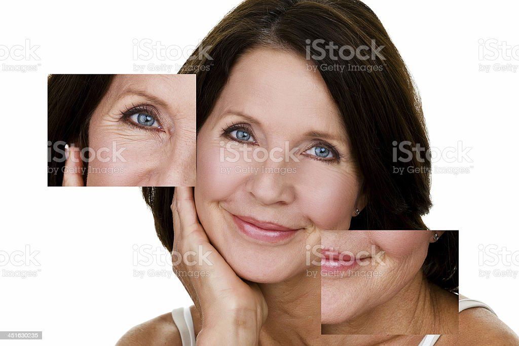 Perfectly imperfect stock photo