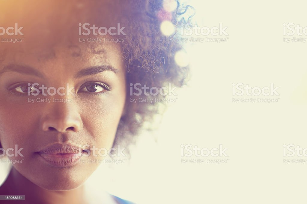 Perfectly me stock photo