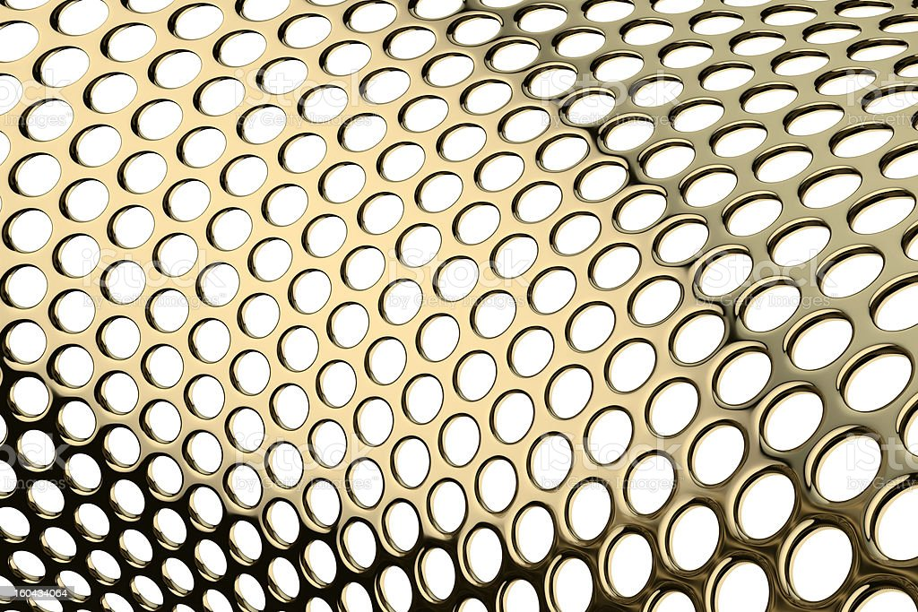 Perforated metal pattern royalty-free stock photo