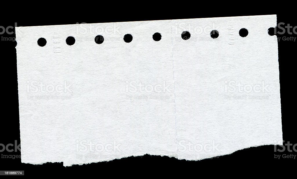 Perforated paper textured background royalty-free stock photo