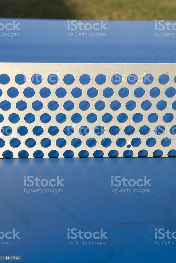 Perforated stock photo