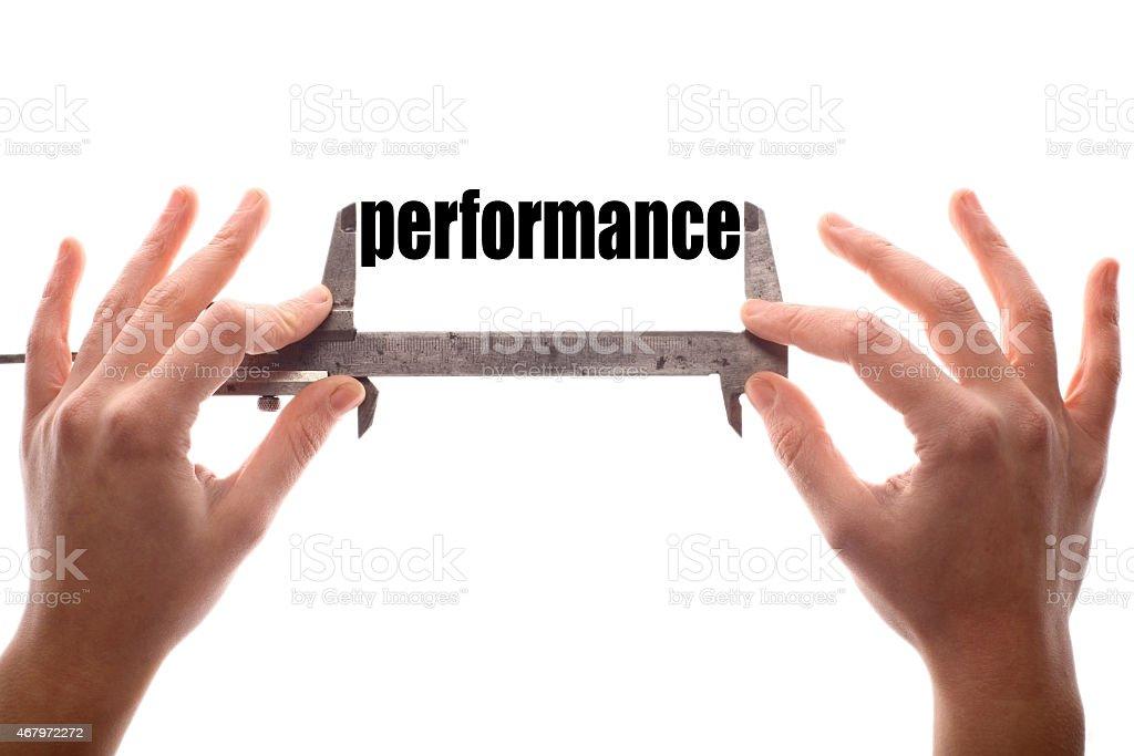 Performace stock photo