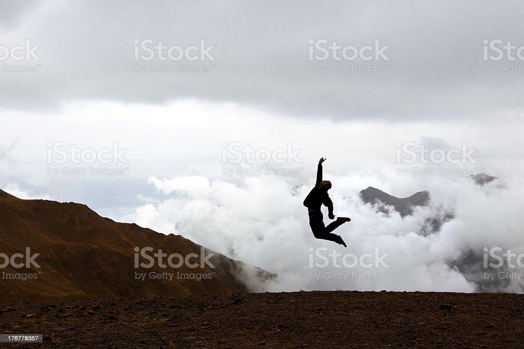 performance alpina royalty-free stock photo
