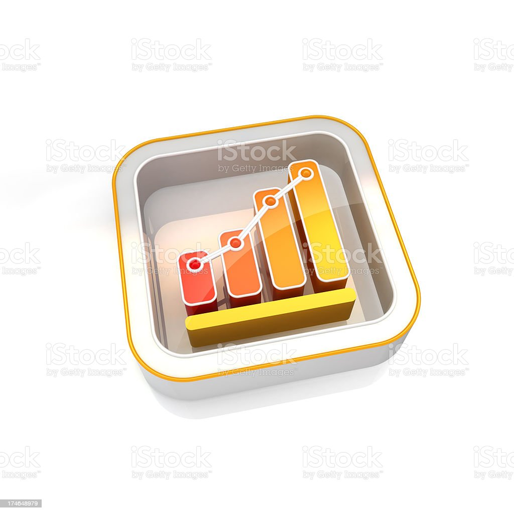 performance icon royalty-free stock photo